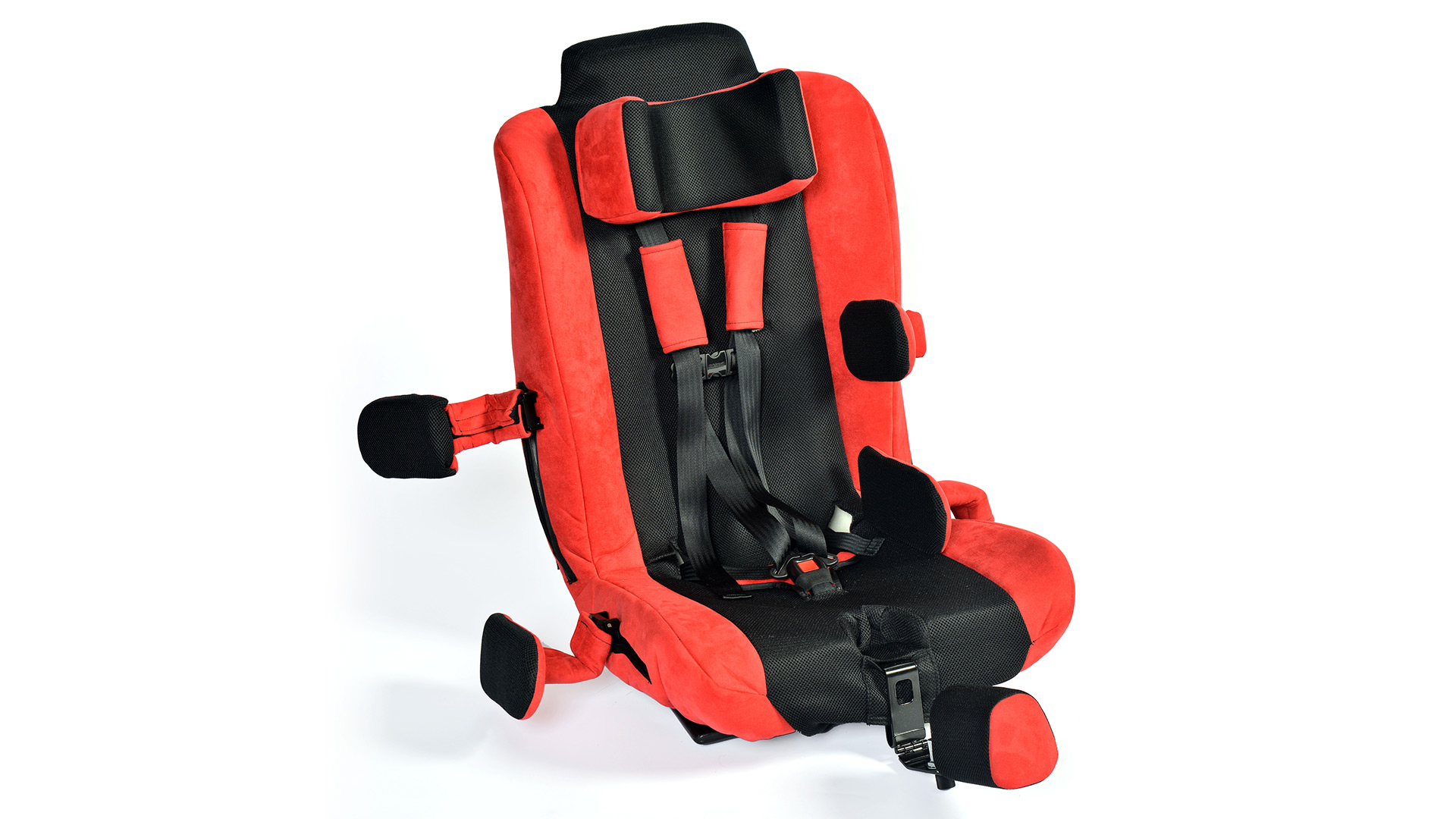 theradapt spirit car seat by inspired by drive. Black Bedroom Furniture Sets. Home Design Ideas