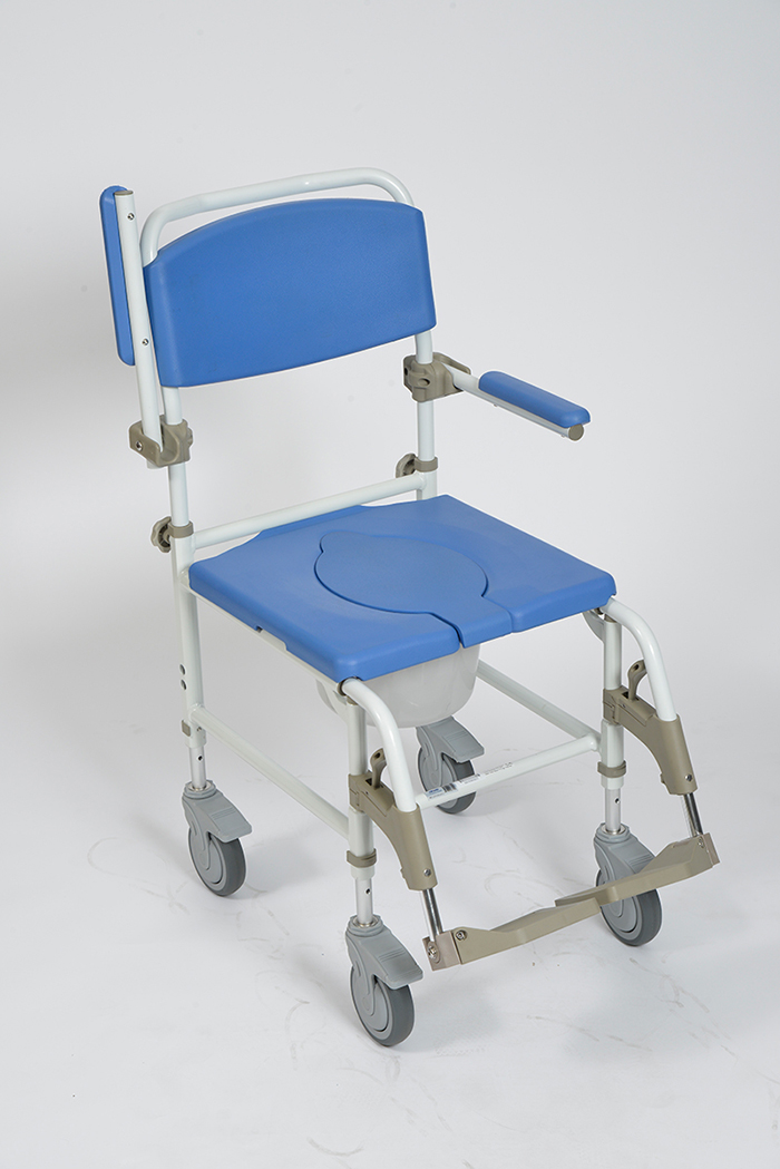 Aluminum Rehab Shower Commode Chair - Inspired by Drive